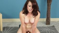 Violet Sits Down On The Famed Sybian And Gets Off While Staying On!
