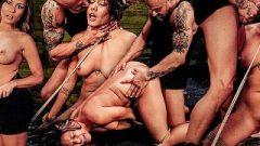 Mena Li Endures The Sybian Nailing Machine & Hardcore Rope Bondage Sex