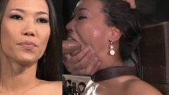 Kalina Ryu Tied Throatfuck And Sybian