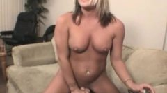 Starri Knight Rides The Sybian On Webcam {finger Attached}