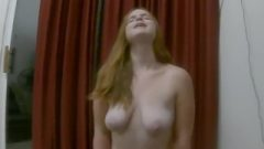 Meaty PAWG Pale Ginger Has A Long Sybian Ride With Rough Squirting Orgasms