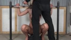 BDSM Bound, Ride Sybian And Blow-Job