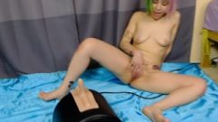 Lum's First Sybian Experience