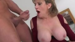 Uk Milf Rides Sybian And Blows A Enormous Dick