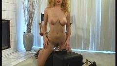 Clit Rubbing Machine Sex On The Sybian Rider