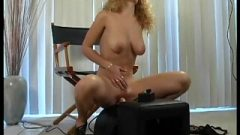 Goldie And Her Sybian Machine Sex