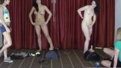 Who Can Ride The Sybian The Longest? These Girls Challenge One Another
