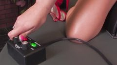 Spicy Vanessa Decides To Go All Out And Takes On The Sybian With Her Tight Wet Pussy
