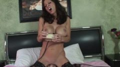 Cougar Angel Petite Rides Sybian