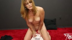 Seductive MILF Kate Takes A Ride On The Tremor For BlowBangGirls