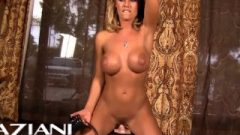 Attractive Fair-haired Nicole Has Hardcore Sybian Orgasm