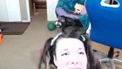 Young Rides Sybian On Mfc