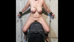 Nubile Cougar With Huge Breasts Cumming Raw On Sybian