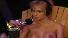 Leticia Cline Rides The Sybian And Takes Tickled By A Local Radio Host