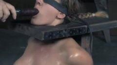 Penny Barber Squirts On Sybian With Toy In Throat